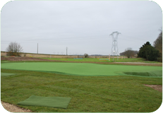 Frankrijk – Le Coudray Montceau : pitching green